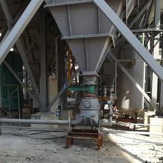白灰窑除尘灰AV泵气力输送系统
