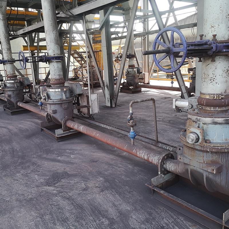 炼铁厂竖炉车间AV泵气力输送系统